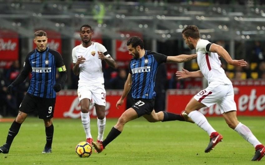 Интер и Рома сыграли вничью в матче Серии А