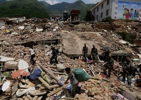 В Китае из-за землетрясения эвакуировали 21 тысяч человек