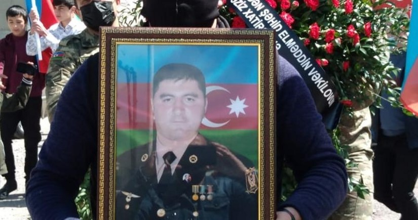 В Дашкесане простились с шехидом Эльмеддином Векиловым - ОБНОВЛЕНО