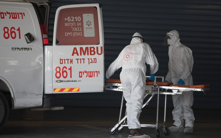 İsraildə koronavirusa yoluxanların sayı 15,3 minə yaxınlaşır