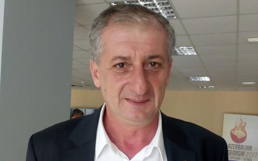Gürcüstan Voleybol Federasiyasının prezidenti Azərbaycana təşəkkür edib