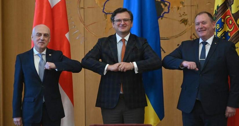 Грузия, Молдова и Украина подписали меморандум о работе по интеграции в ЕС