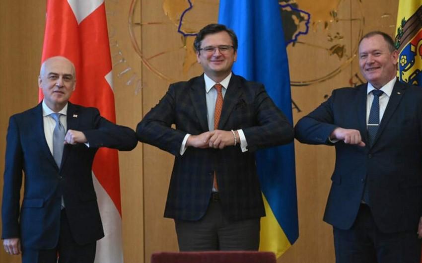 Gürcüstan, Moldova və Ukrayna Aİ-yə inteqrasiya üçün əməkdaşlıq memorandumu imzalayıblar