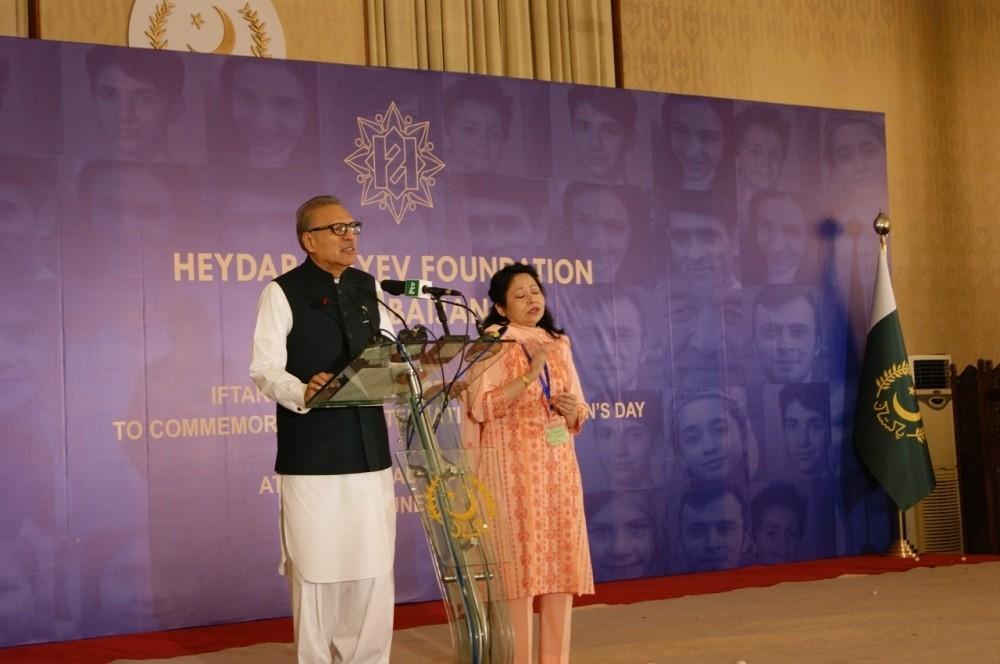 Президент и первая леди Пакистана приняли участие в мероприятии, проведенном в Исламабаде для детей при поддержке Фонда Гейдара Алиева