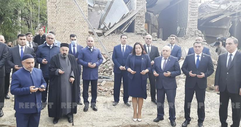 В Гяндже почтили память жертв армянского террора