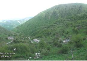 Footage from Jemilli village of Kalbajar