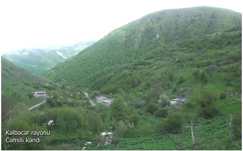 Освобожденное от армянской оккупации кельбаджарское село Джамилли