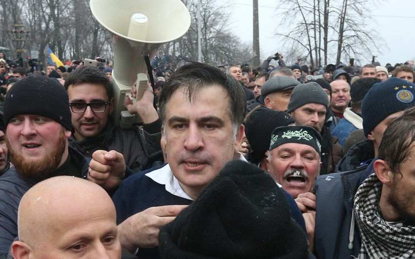 Mikheil Saakashvili detained in Kiev