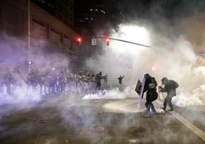 Три человека ранены в результате стрельбы в ходе акции протеста в США