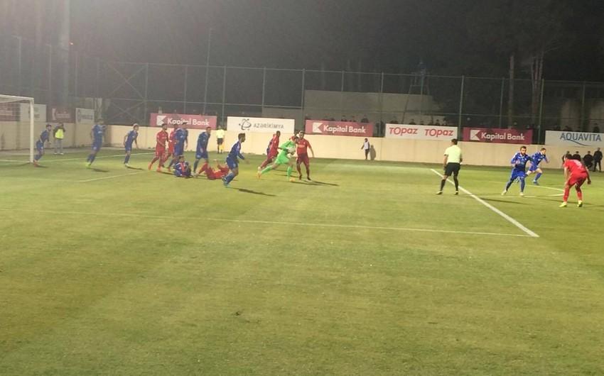 Кубок Азербайджана: Вторая полуфинальная встреча завершилась ничьей