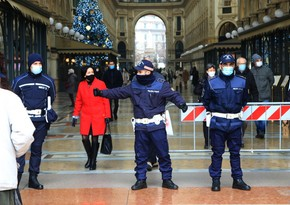 Christmas lockdown comes into force in Italy