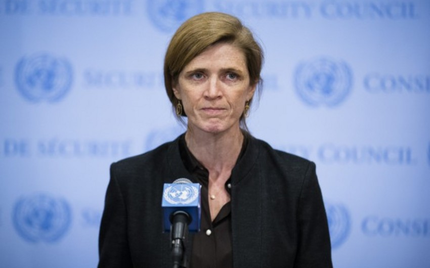 The US presented presidency program for UN Security Council in September