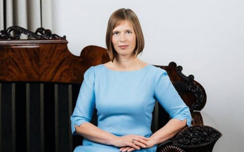 Estoniyanın dövlət başçısı Azərbaycan Prezidentini təbrik etdi