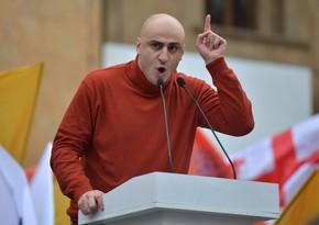 Gürcüstanın müxalif partiya sədrinin deputat mandatı ləğv olunur