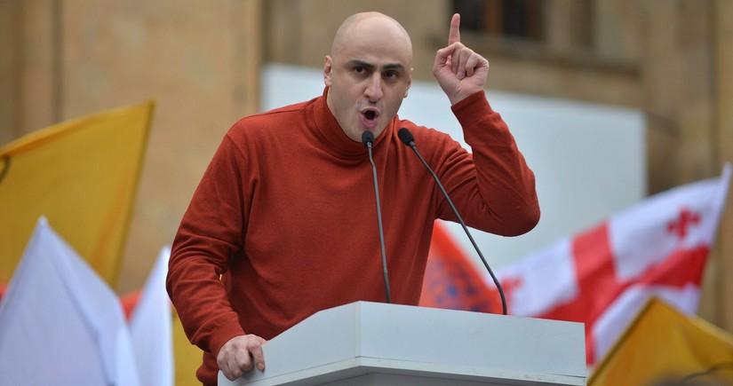 Gürcüstanın müxalifət lideri deputat mandatından imtina edib