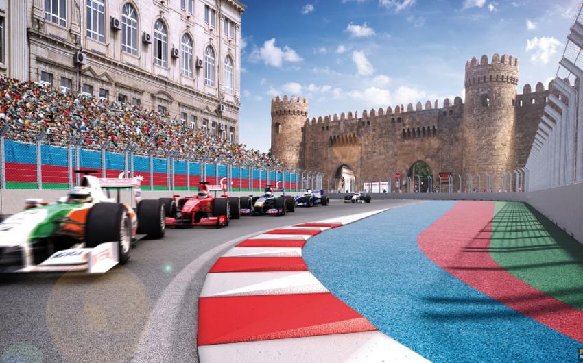 Bakıda Formula-1 üzrə Avropa Qran Prisi start götürür
