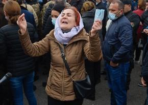 Erməni əsgər anaları Qarabağda olan övladlarının qaytarılmasını tələb edib