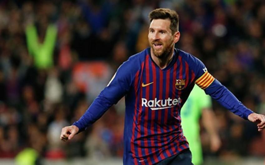 Messi Kataloniyanın ən nüfuzlu mükafatlarından birini alıb
