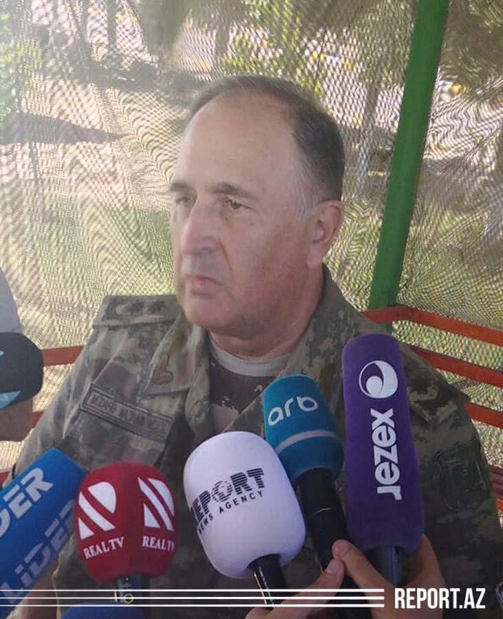 Müdafiə nazirinin müavini, general-leytenant Kərim Vəliyev