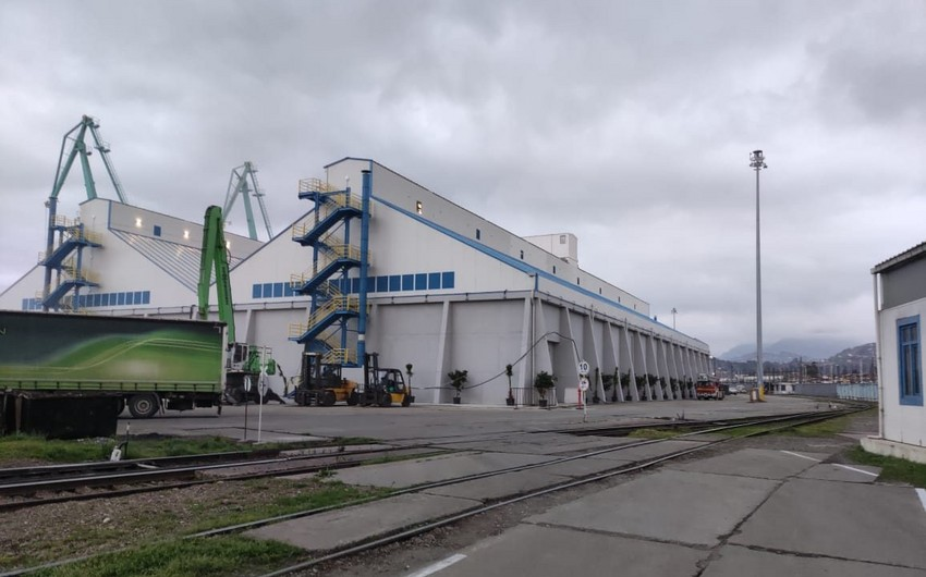 Fertilizer transshipment terminal opened in Batumi port