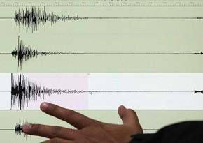 К югу от Австралии произошло землетрясение