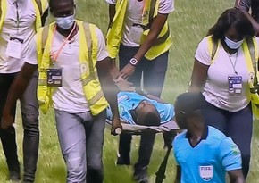 Referee collapses in AFCON qualifier