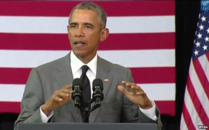 Barak Obama Amerikanın yəhudi icmasının narahatlıqlarına münasibət bildirib