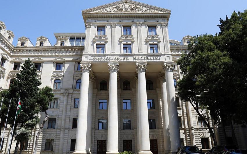 Azərbaycan XİN: Vyana görüşündən sonra rəsmi Yerevanın verdiyi açıqlamalar yenə də təxribat xarakter daşıyır