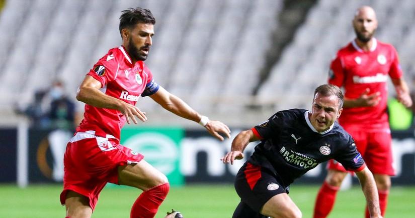 Игрок Омонии забил самый дальний гол в истории Лиги Европы