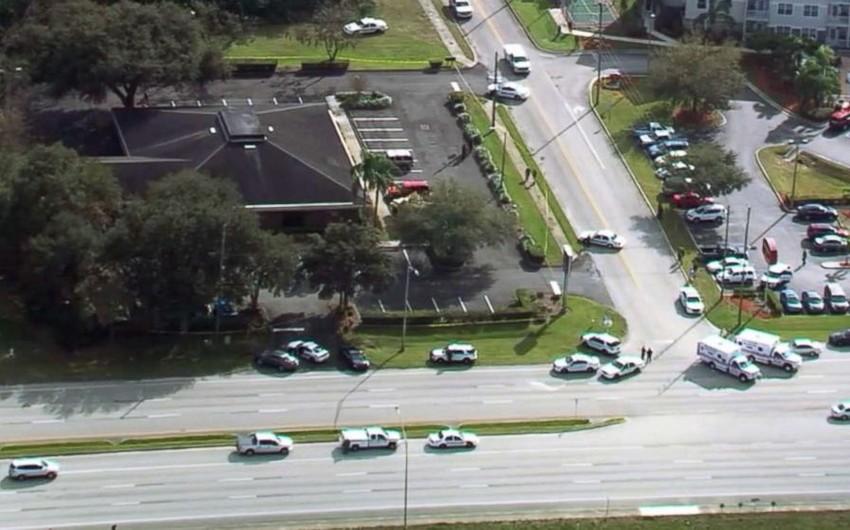 Floridada bankda atışma nəticəsində 5 nəfər ölüb - VİDEO - FOTO