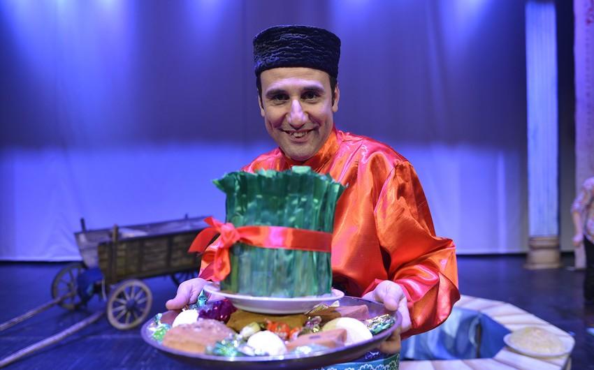 Təbriz Teatrı Bakıya qastrol səfərinə gəlib