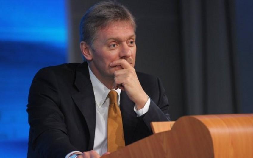 """Peskov: Qərblə münasibətlərdə """"intibah dövrü"""" maraqlarımıza hörmətlə yanaşılandan sonra başlayacaq"""