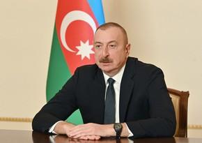 Ильхам Алиев: Дан старт созданию дорожной инфраструктуры и на освобожденных землях