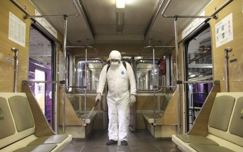 Zaur Hüseynov: Bütün metro stansiyaları dezinfeksiya olunub
