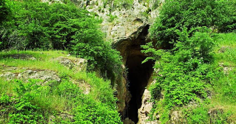 Azıx mağarasına aid arxeoloji tapıntılar Bakıya gətirilib