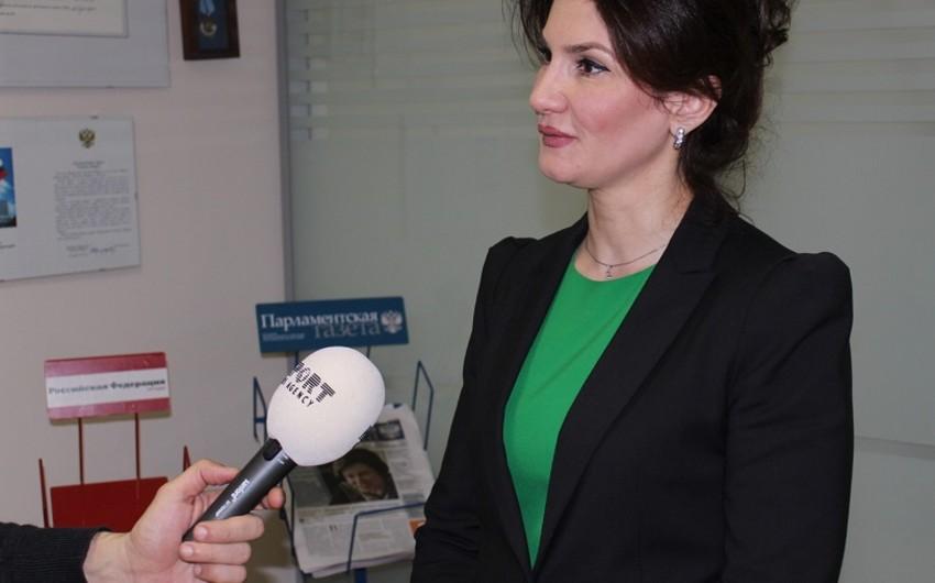Mehriban Sadıqova: Rusiyada Azərbaycanın nə qədər çox ictimai təşkilatı olsa, bir o qədər yaxşıdır