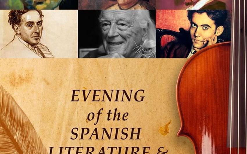 Bakıda İspan musiqisi və poeziyası axşamı keçiriləcək