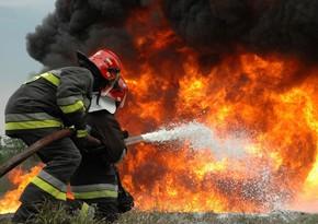 В здании посольства Азербайджана в Латвии произошел пожар