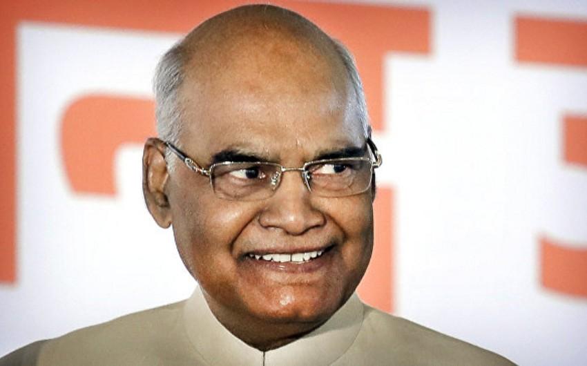 Hindistanın yeni prezidenti səlahiyyətlərinin icrasına başlayıb