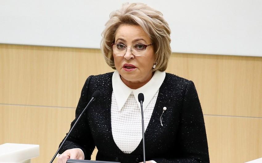 Матвиенко: И в Азербайджане, и в Армении люди хотят мира
