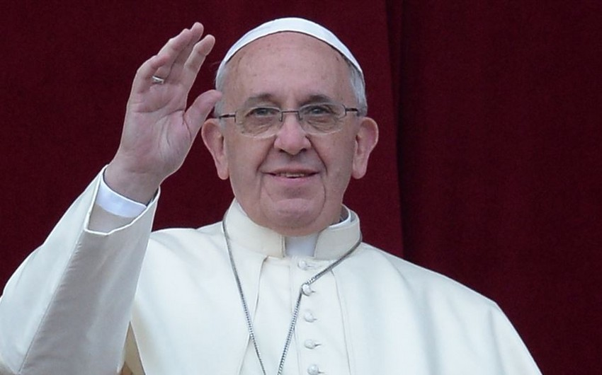 Папа Римский: Возношу молитвы, чтобы милость Всевышнего всегда была с азербайджанским народом