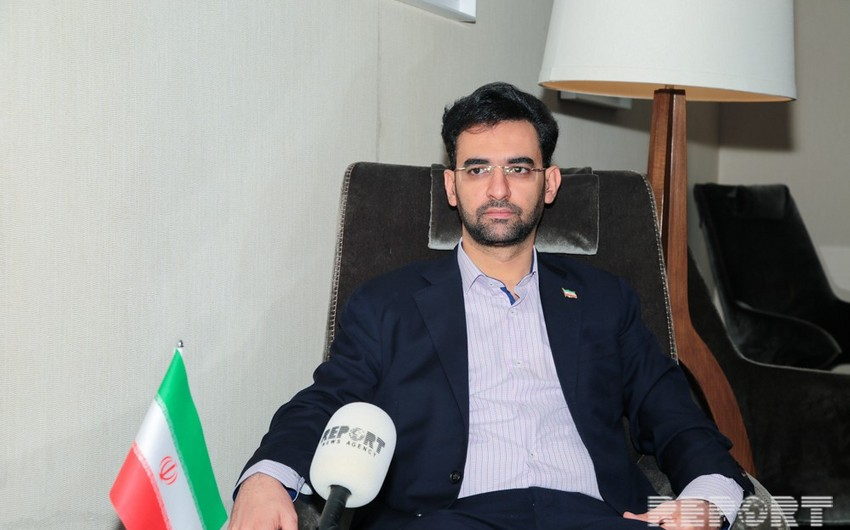 İranlı nazir: Biz Azərbaycanı informasiya texnologiyaları sahəsində strateji tərəfdaş hesab edirik - MÜSAHİBƏ