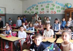 Gürcüstanda azərbaycandilli məktəblərin sayı azalıb