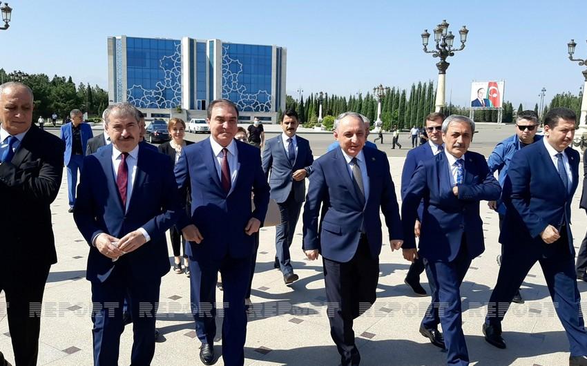 Azərbaycan və Türkiyənin Baş prokurorlarının Gəncəyə səfəri başlayıb