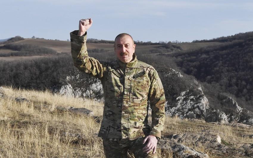 Президент Азербайджана: Нет города под названием Шуши, есть Шуша!