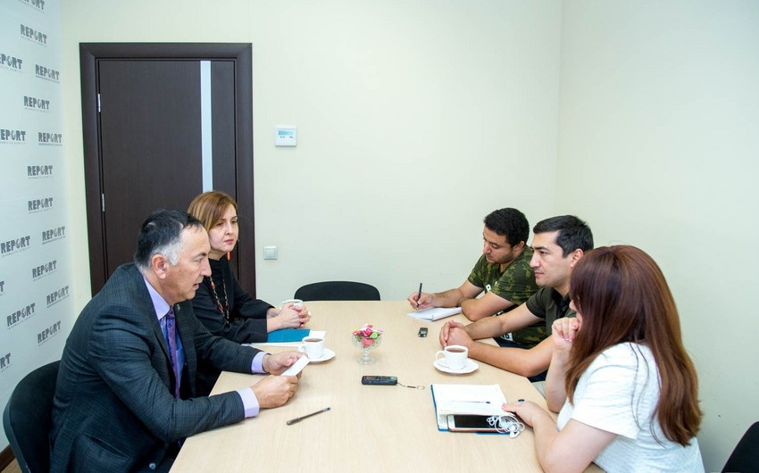 Глава представительства АБР в Азербайджане посетил Report - ФОТО