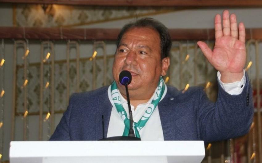 Türkiyə klubunun prezidenti koronavirusdan öldü