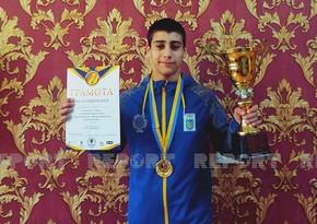 Азербайджанский спортсмен из Украины стал чемпионом Европы