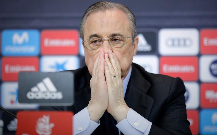 Real Madridin prezidentinə qarşı 10 milyon avroluq şantaj
