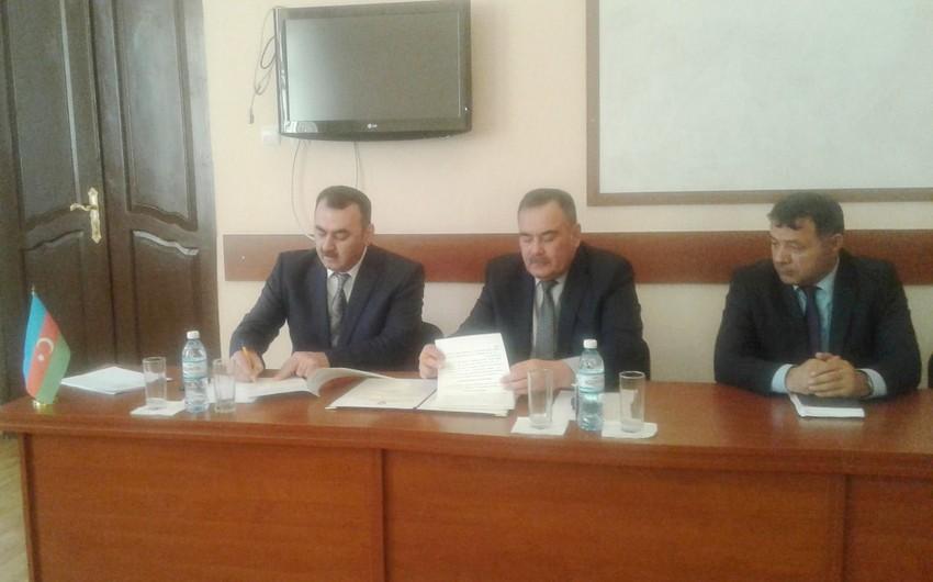 Əmlak Məsələləri Dövlət Komitəsi ilə Aqrar Universiteti arasında memorandum imzalanıb